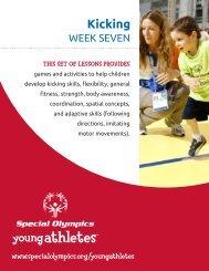 Kicking (PDF) - Special Olympics