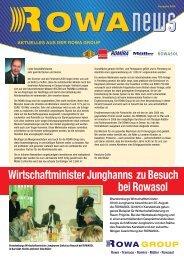Newsletter - Ausgabe 02/2005 - Tramaco GmbH