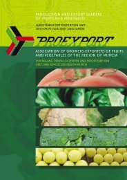 association of growers-exporters of fruits and vegetables ... - Proexport