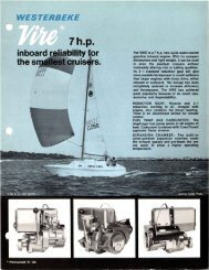 inboard - Westerbeke