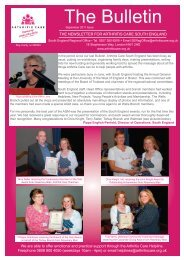 Download Bulletin September 2011 - Arthritis Care