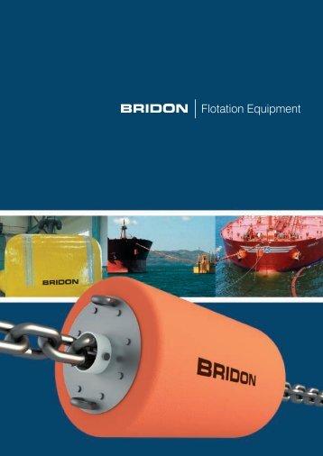 Download the Flotation Equipment brochure - Bridon