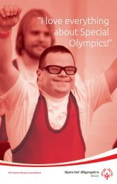 2012 Annual Report - Special Olympics Illinois