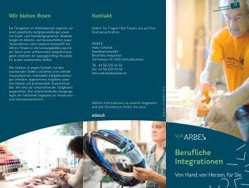 Integrationsmassnahmen und Massnahmen zur beruflichen Wiedereingliederung