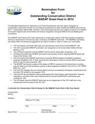 Nomination Form - Michigan Association of Conservation Districts