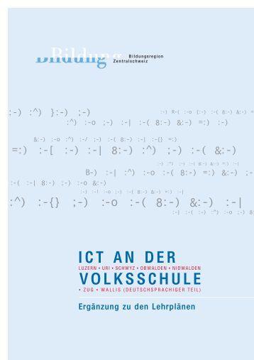 ICT AN DER VOLKSSCHULE - Elternet.ch