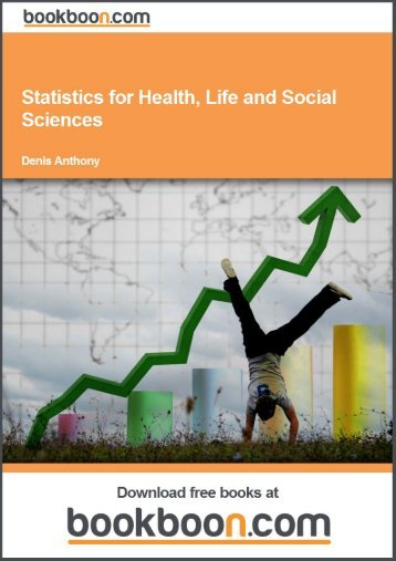Statistics for Health, Life and Social Sciences - Download free eBooks