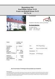 Regensburg-Süd Karl-Stieler-Strasse 15-25 Franz ... - Immobilien.de