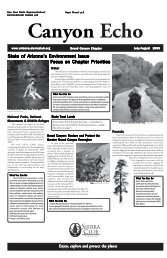 Jul/Aug 2005 - Arizona Sierra Club