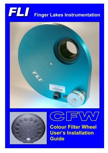 Colour Filter Wheel User's Installation Guide - Opticstar
