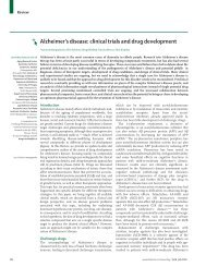 Alzheimer's disease: clinical trials and drug ... - ResearchGate