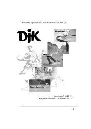 Heft 4 2012 - DJK Concordia Fürth 1920 e. V.