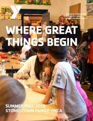 2013 Summer/Fall Program Guide - YMCA of San Francisco
