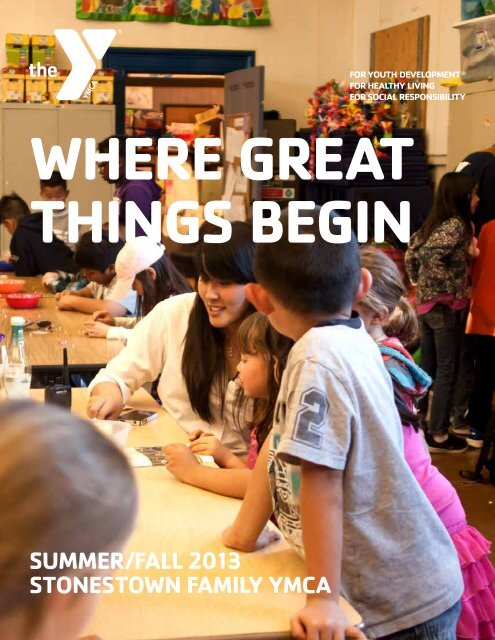 2013 Summer/Fall Program Guide - YMCA of San Francisco