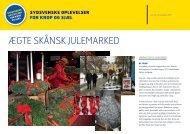 ægte skånsk julemarked - Sydsvenske oplevelser for krop og sjæl