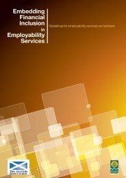 Embedding Financial Inclusion Employability Services