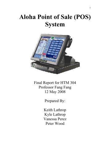 Aloha Point of Sale (POS) System