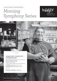 Morning Symphony Series - West Australian Symphony Orchestra