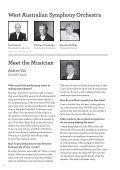 Morning Symphony Series - West Australian Symphony Orchestra - Page 6