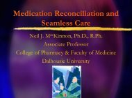 Medication Reconciliation and Seamless Care - Safer Healthcare ...