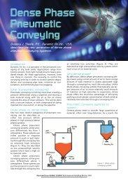 Dense Phase Pneumatic Conveying - Dynamic Air Inc.