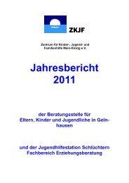 Jahresbericht 2011 - Zentrum für Kinder-, Jugend