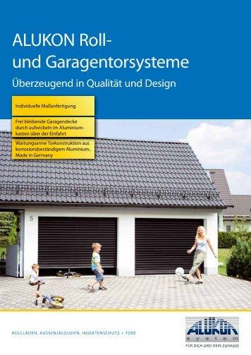 ALUKON Roll- und Garagentorsysteme - STANKE Rollladen