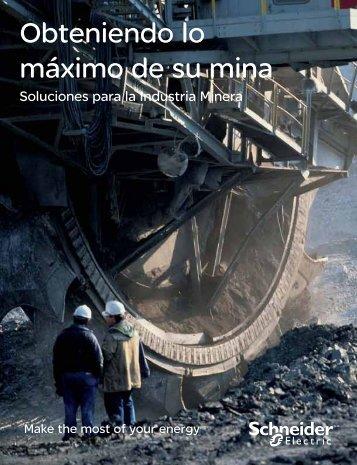 Soluciones con la minería - Schneider Electric