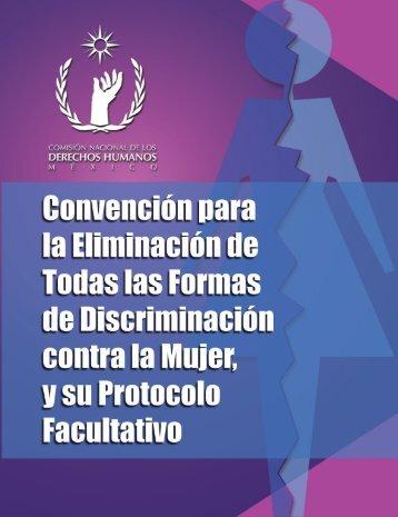 cartilla convención elmiminación formas discriminación
