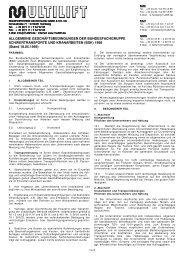 Multilift AGB.pdf (70 KB) - Multilift GmbH & Co. KG