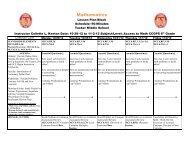 Week 12 - CommunityNet: DeKalb County School System