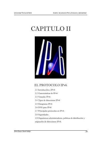 CAPITULO II - Repositorio UTN - Universidad Técnica del Norte