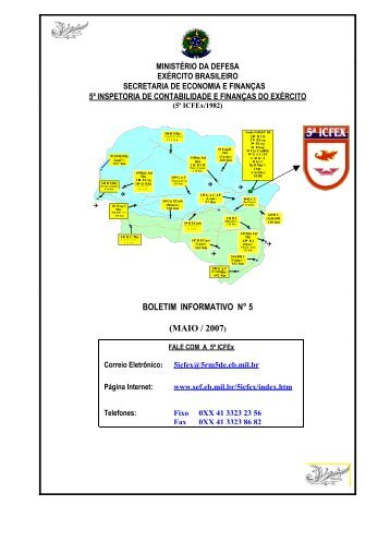 BInfo - 05 - 5ª ICFEx - Exército Brasileiro