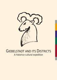 GIEBELSTADT AND ITS DISTRICTS - Markt Giebelstadt