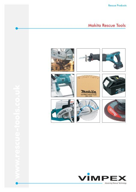 Makita Rescue Tools Overview (PDF) - Rescue-tools co uk