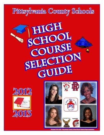 2012-13 - Pittsylvania County Schools