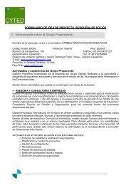 1 Información sobre el Grupo Proponente: - Adi