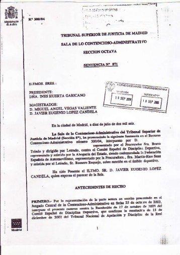 DESCARGA LA SENTENCIA COMPLETA PINCHANDO AQUÍ - (pdf)
