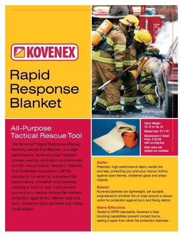 Rapid Response Blanket - Rescue Consulting Canada