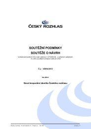 Soutěžní podmínky_signed.pdf - E-ZAK Český rozhlas