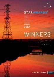 STAR Award Winners: 2012 - Transpower