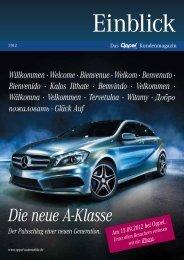 Kundenmagazin - Oppel Automobile