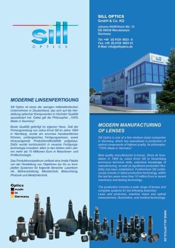 moderne linsenfertigung modern manufacturing of lenses - Militram