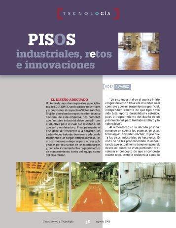 Pisos industriales, retos e innovaciones