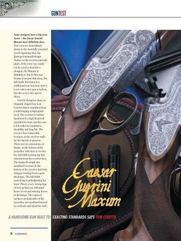 GUNTEST - Caesar Guerini USA