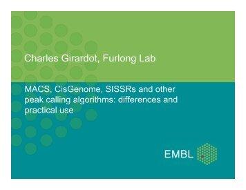 Charles Girardot, Furlong Lab - Bioconductor