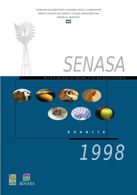 Anuario 1998 Senasa