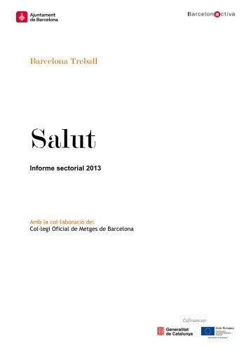 Informe sectorial: Salut - Barcelona Treball