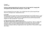 Forslag til VEDTEKTER Kommunal ... - Stokke kommune
