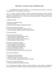 PORTARIA Nº 1229/MD, DE 20 DE SETEMBRO DE 2006 O ...